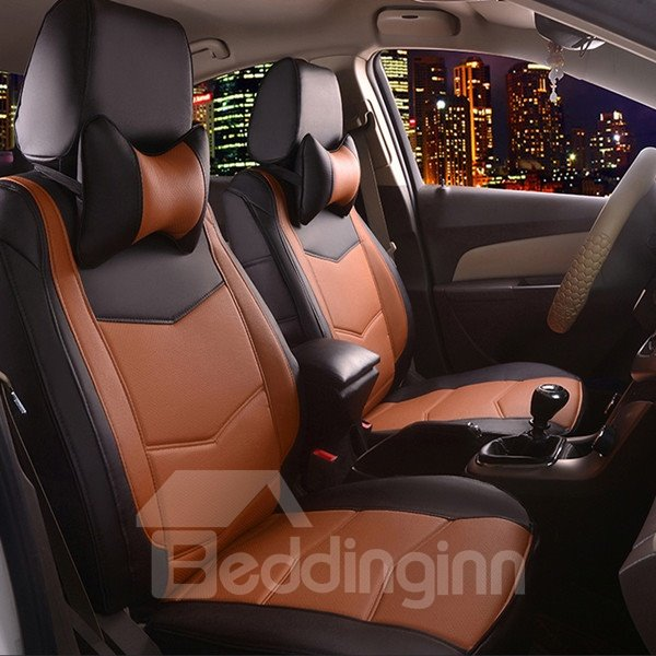Most Popular PU Leather Material Sport Design Fashionable Universal Car Seat Cover