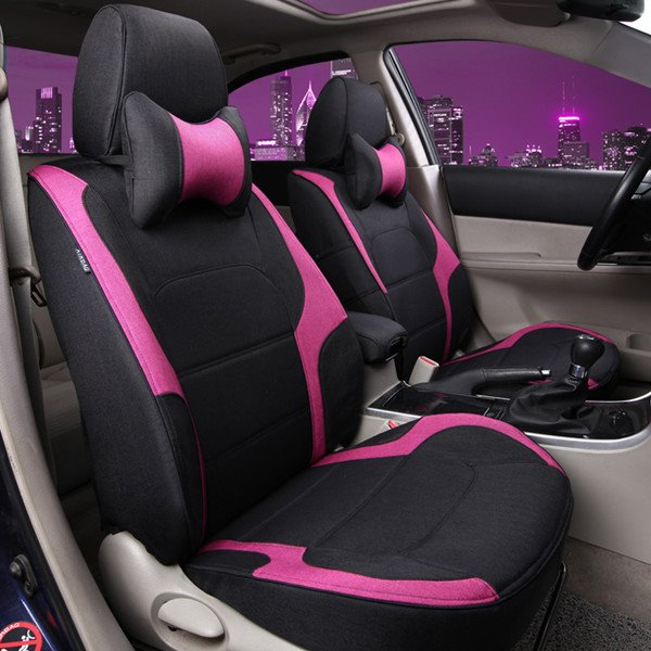 Classic Sport Design And Comfortable Material Universal Car Seat Cover