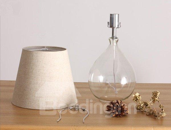 Minimalist Style Vintage Dried Flower Arrangement Table Lamp