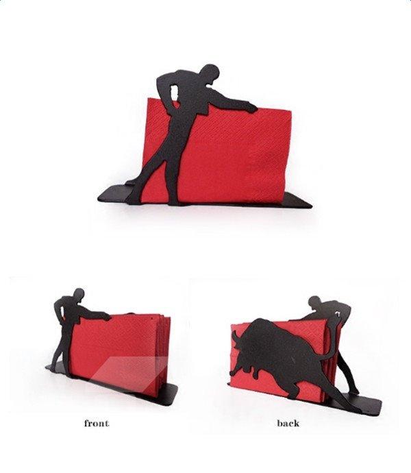 Super Cool Spanish Matador Design Napkin Holder