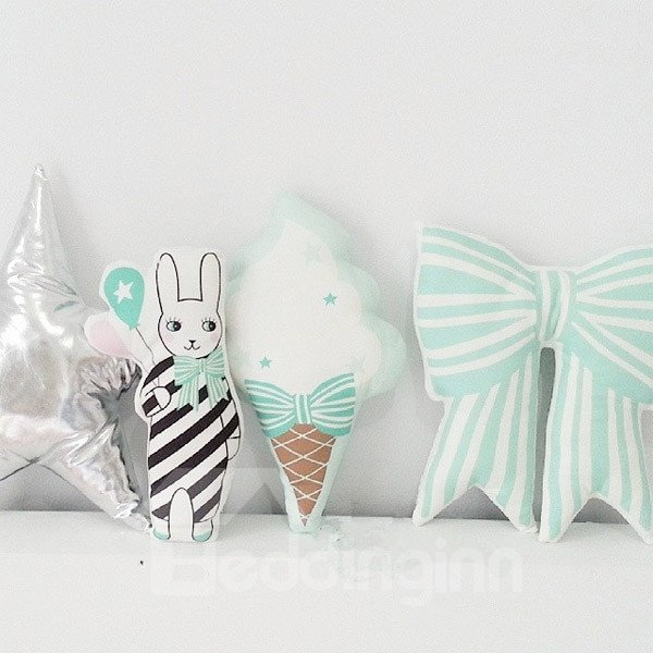 Unique Design Ice-cream Shape Cute and Sweet Throw Pillow