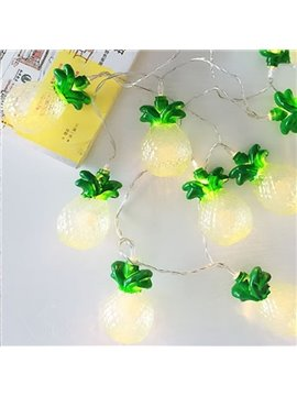 Cute Pineapple Shape 4.92 Inches Long Lights with 10 LED Cute LED Lights