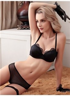 Special Fashional Cup Design Hollow Bra Underwear Sets