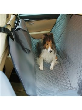 Travel Necessary Waterproof Deluxe Rear Car Pet Seat Mat