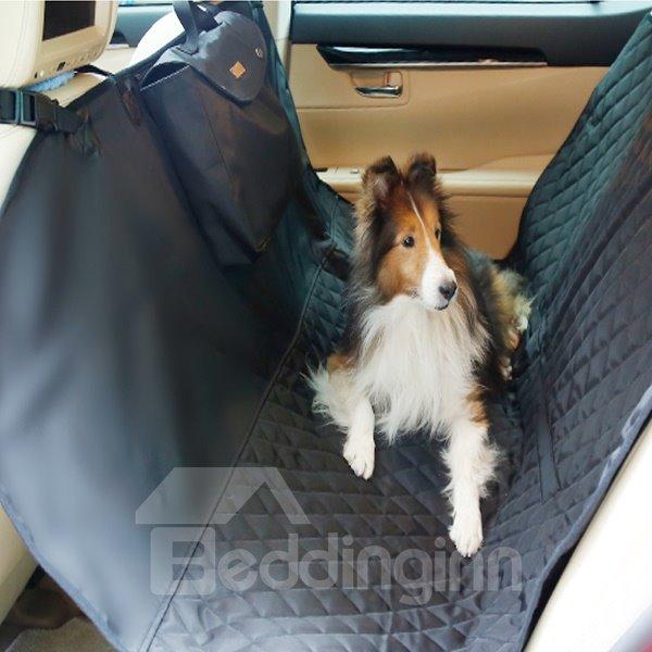 Deluxe Waterproof Travel Dog Rear Car Seat Proctetor Blanket Pet Cover