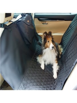 Deluxe Waterproof Travel Dog Rear Car Seat Proctetor Blanket Pet Cover