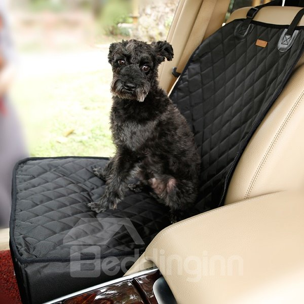 Dual Delux Pet Seat Cover Waterproof Dog Car Front Seat Cover
