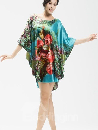 Elegant And Noble With Beautiful Landscape Loose Sleepshirt