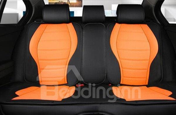 Super Luxurious Contrast Color Design Sport Cost-Effective Universal Car Seat Cover
