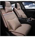 Classic Solid Striped With Three Fashional Color Line Attractive Universal Car Seat Cover