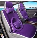 Pure Bright Color Fashional Style And Cool Material Universal Car Seat Cover