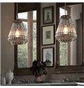 Transparent Iron Frame and Glass Decorative Pendant Light