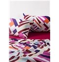 Faddish Colorful Abstract Pattern Print 4-Piece Cotton Duvet Cover Sets