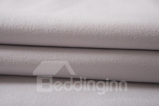 Noble Purple Flower Rattan Print 4-Piece Cotton Duvet Cover Sets
