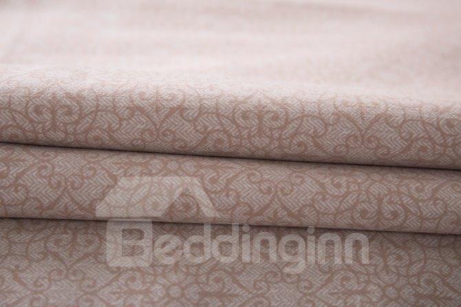 Organic Cotton Plaid Print 4-Piece Duvet Cover Sets