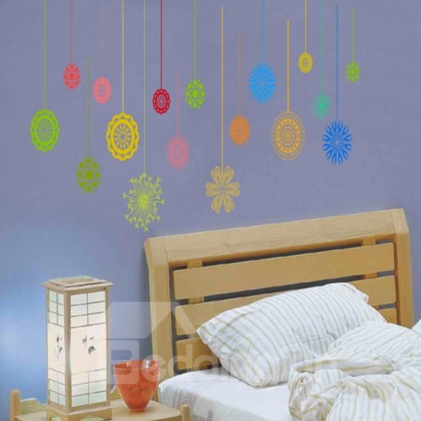 Colorful Different Pattern Decorative Wall Stickers