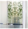 Modern Design Bamboos Pattern Glass Decoration Wall Stickers