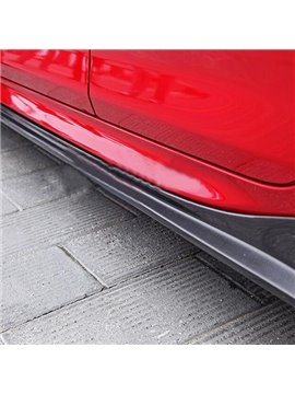 Special Car External Decoration 2-Pieces Carbon Fiber Side Skirts