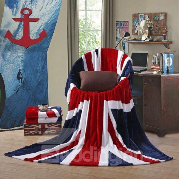 Union Jack Flag Design Soft Flannel Blanket