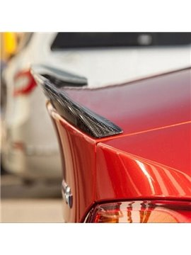Special Arcuated Style Carbon Fiber Trunk Boot Lip Rear Spoiler