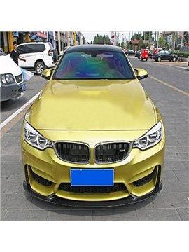 Cool Special Car Design Carbon Fiber Front Lip Spoiler