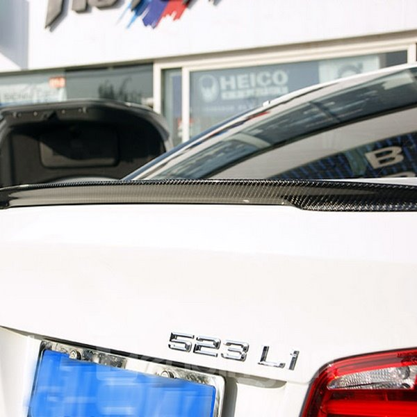 Sport Design Attractive Carbon Fiber Trunk Boot Lip Rear Spoiler