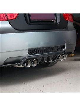 Cool Carbon Fiber Material Rear Diffuser Sedan Spoiler