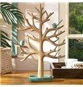 Creative Design Resin Tree Shape Jewelry Holder Desktop Decoration