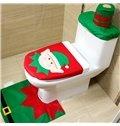 Wonderful Festival Christmas Decoration Santa Claus Pattern Closestool Covers