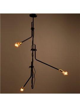 Modern Creative Iron Branch Shape 3 Bulb Holders Pendant Light