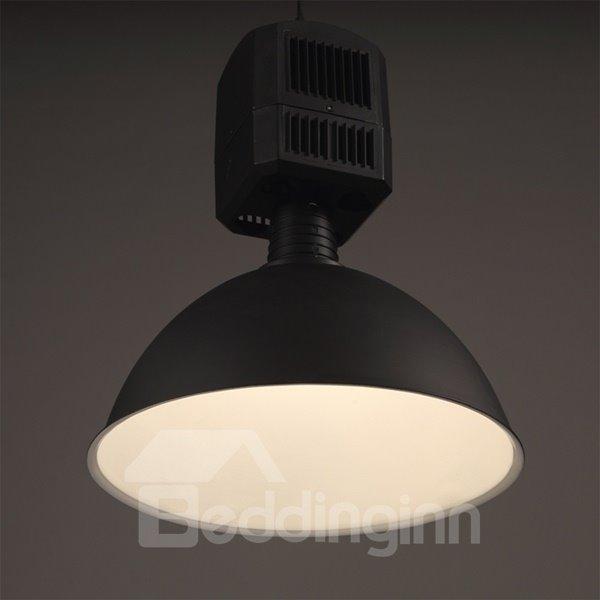 Black Simple Style Iron Frame Decorative Pendant Light