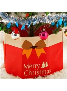 Festival Christmas Decoration Box for Christmas Tree Root