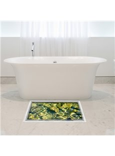 Slipping-Preventing Water-Proof Stone Pattern 3D Floor Sticker