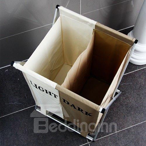 Foldable and Washable Bunk Laundry Basket Storage Bag