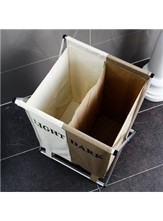 Foldable and Washable Bunk Laundry Basket Storage Bag