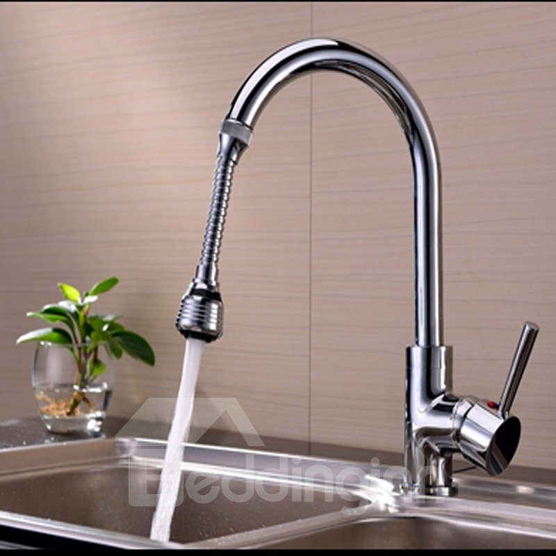 Simple Design 5.9 Inches Water Saving Kitchen Faucet Head