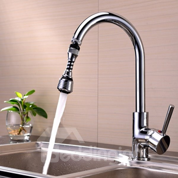 Creative 4.7 Inches High Water Saving Kitchen Faucet Head