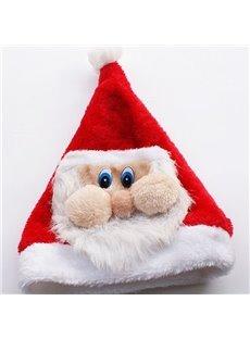 Cute Santa Claus Pattern Christmas Hat