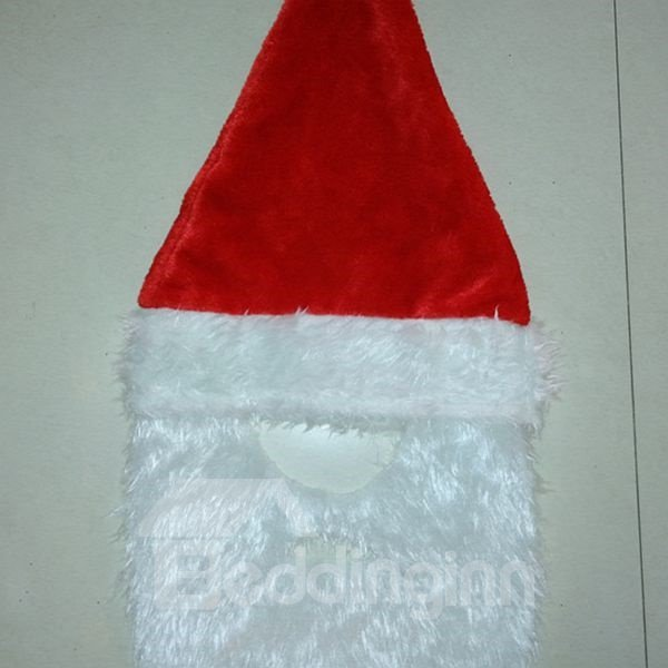 Festival Christmas Decoration Santa Claus Hat with Beard