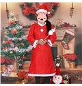Popular Santa Claus Style Girl Christmas Costume