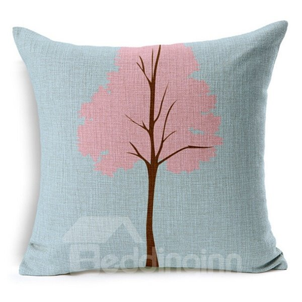 Beauty of Nature Print Throw Pillow Case