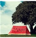 Creative Outdoor Windproof and Waterproof 3D Watermelon Pattern Tent