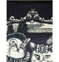 Fashion Long Sleeve Cat Couple Pattern 3D Painted Hoodie