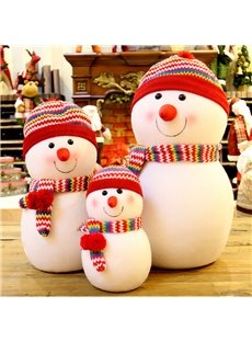 Festival Christmas Decoration Snowman Pattern Cutlery Covers