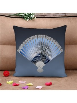 Special Fan Design Square Throw Pillow Case
