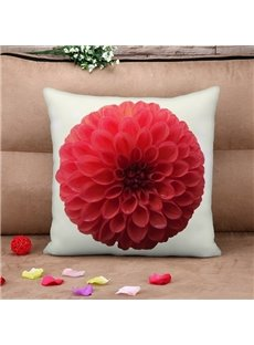 Beautiful Blooming Hydrangea Print Throw Pillow Case