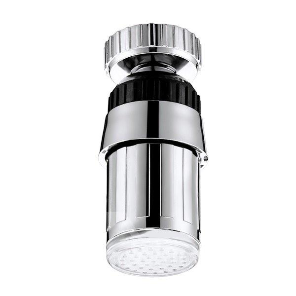 Wonderful 3 Colors Changing Temperature Sensor Kitchen Faucet Head