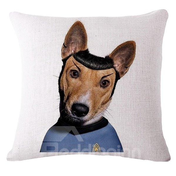 Imaginative Design Animal Print Square Throw Pillow Case