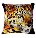 Fashionable 3D Animal Print Throw Pillow Case