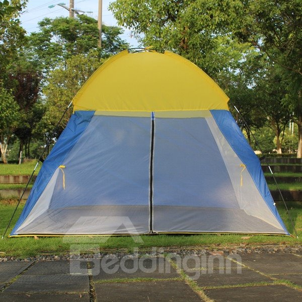 Outdoor 3-4 Person Waterproof Screened Camping and
